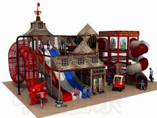 天津室内儿童乐园室内淘气堡找中童游乐