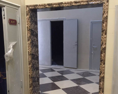 肇慶仿大理石電梯門套-石塑電梯門-勵能建材