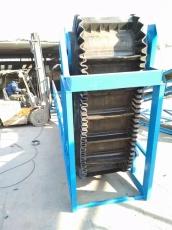 大倾角皮带输送机多用途 卸车运输机xy1