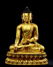 明清铜佛像目前交易价格多少
