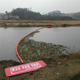湖面悬浮物拦截装置1米管式拦污排