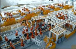 青岛工业模型 金属加工模型