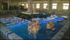 化工沙盘模型加工厂 炼化流程模型