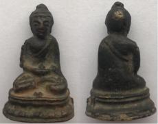 家传明清铜佛像想知道值多少钱