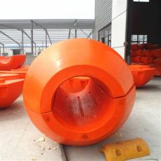 对夹式疏浚pe浮体水上托管浮子规格