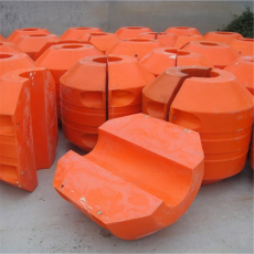 厂家定制夹管塑料浮体4寸抽水管浮桶