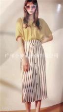 慕拉品牌19年夏装品牌折扣女装批发一手货源