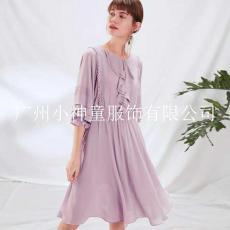 广州女装货源一米阳光品牌折扣女装批发