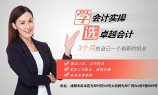 成都零基础实操/实账会计培训  面授/直播
