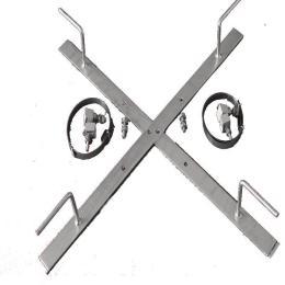 預絞絲桿用余纜架  十字型桿用 喉箍鋼帶型