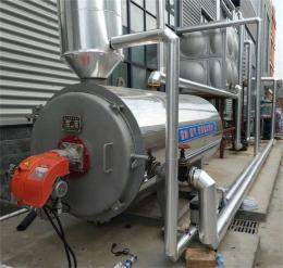 面條烘干用2噸燃氣熱水鍋爐 常壓熱水鍋爐