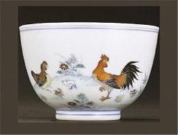 现今拍卖斗彩鸡缸杯一价格