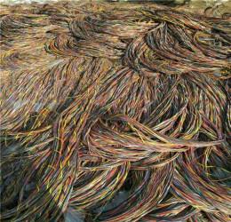 回收钢芯铝线 废旧电缆回收