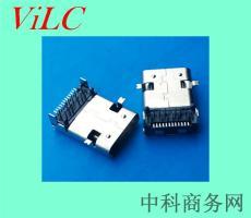 长体11.95-加长体USB 3.1 TYPE C母座 编带