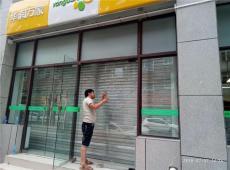 西安市区专业定做钢化玻璃门  地弹玻璃门