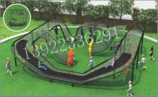 广州户外儿童乐园滑梯拓展秋千攀爬游乐设备