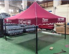 文山廣告帳篷定做廣南四角遮陽大傘印刷