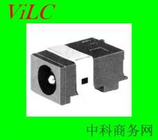 供应DC00300卧板SMT-板上DC电源插座 圆针