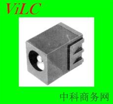 长方体-黑胶体DC电源插座DC00510 环保耐温
