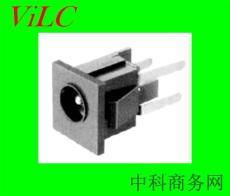 直插型DC00680/DC电源插座 面板圆孔 圆针