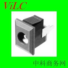 直插DC电源插座 DC00690 直流大电流 圆针