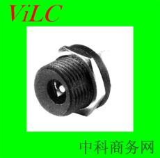 供应DC00210直流电DC电源插座-螺口带螺丝
