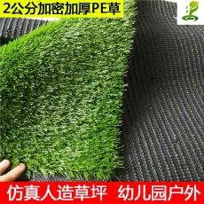 景观装饰淡绿人造草坪庭院楼顶人工假草皮