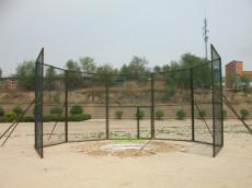 鐵餅護籠鐵餅比賽保護網護籠田徑比賽器材