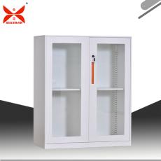 钢制办公?#26885;?#20214;存放柜玻璃文件矮柜