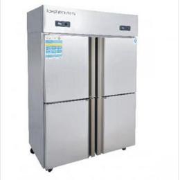 新密商用四門冰箱