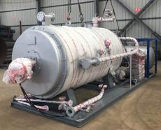 供應廠家直銷YYQW20萬大卡燃氣導熱油爐