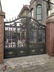铝艺大门厂铝艺庭院大门铝艺大门制作过