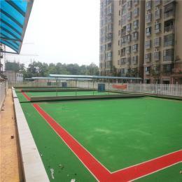 湖南门球场专用人造草坪高档双色宽宽草