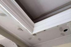 粘石膏线石膏线背景墙设计制作宅急修技术好