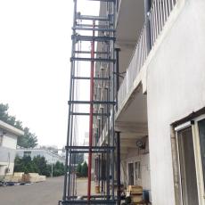 湛江二层三层厂房货梯 导轨式液压电梯维修