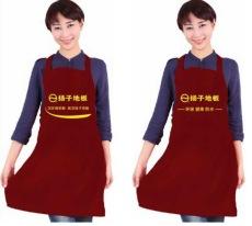云南禮品圍裙訂做昆明廣告圍腰生產印刷文字