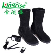 供应发热保暖鞋KR1501女式发热鞋电热保暖鞋