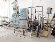 山西致德环保生产三槽式干粉加药装置