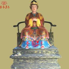斗姆元君 王母娘娘 女蝸 媽祖等道教神像
