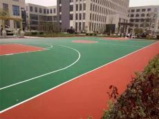 硬地弹性丙烯酸篮球场羽毛球场网球场施工厂