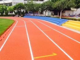 混合型塑胶跑道施工新国标混合型跑道施工