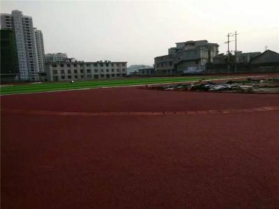 湖南邵阳透气型塑胶跑道中小学跑道施工