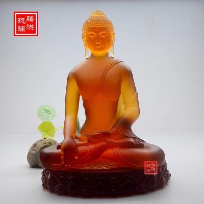 密宗释迦牟尼佛像寺庙供奉古法琉璃佛像