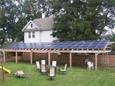 太阳能生产厂家供应家用太阳能光伏发电工程