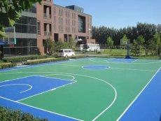 羽毛球場網球場硅PU運動場地硅PU球場施工