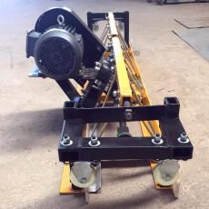 框架式高鐵軌道底板座整平機