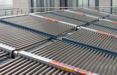 上海太陽能廠家供應3噸太陽能熱水器工程