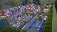 化工沙盘 化工沙盘流程模型 制作厂家