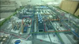 炼化厂区沙盘 炼化流程沙盘模型价格