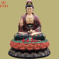 佛教四大菩萨之观世音 地藏王 文殊 普贤